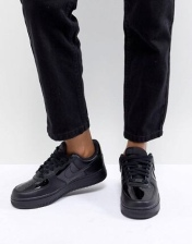 Nike Air Force 1 '07 - Baskets vernies - Noir