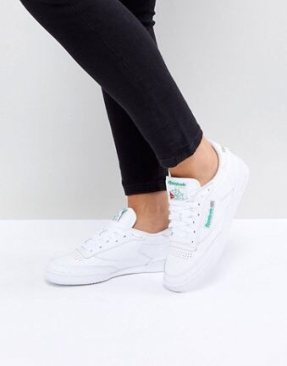 Reebok - Club C 85 BS{[#1]} - Baskets - Blanc